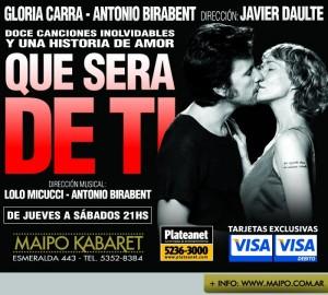2012.09 Que sera de ti-Afiche